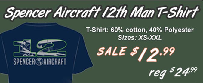 12th Man T-shirt Sale