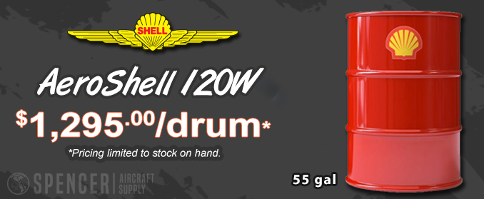 Spencer Aircraft is now an AeroShell Oil Distributor