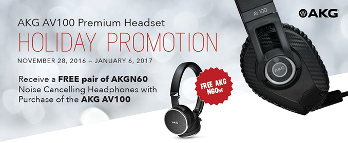 AKG Holiday Promo 2016