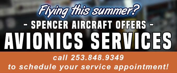 Avionics Repair and Installation at Spencer