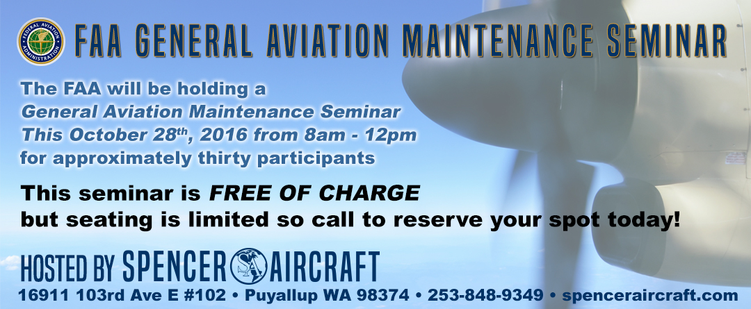 FAA General Aviation Maintenance Seminar