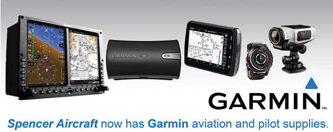 Spencer now has Garmin Aviation Products