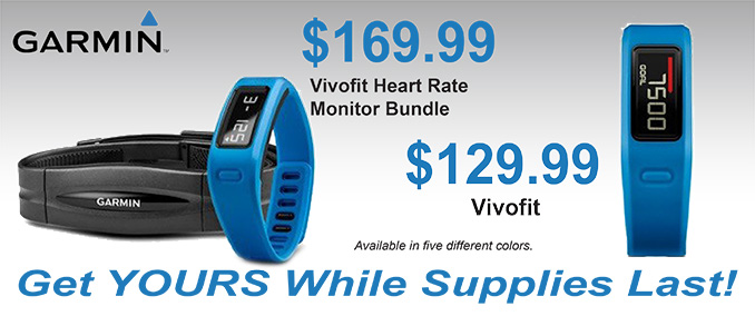 Get in Shape with the Garmin Vivofit Fitness bands