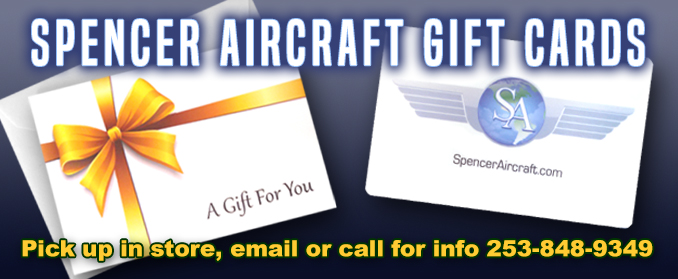 Spencer Aircraft Gift Cards