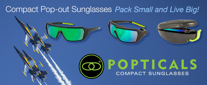 Poptical Compact Sunglasses