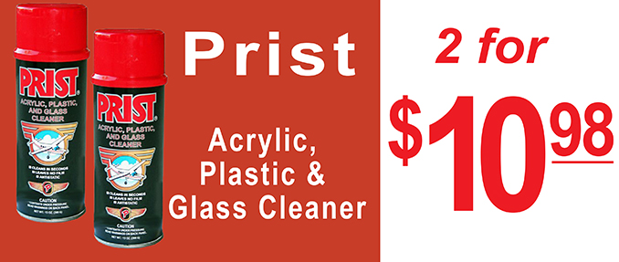 Prist Glass and Acrylic Windshield Cleaner