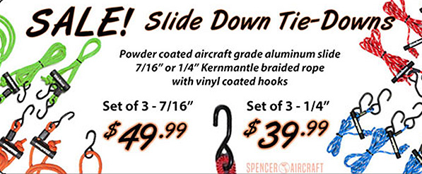 SALE Slide Tie-Downs