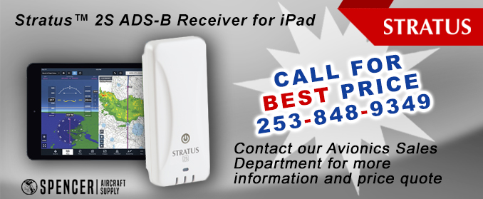 Stratus 2S ADS-B Receiver for iPad