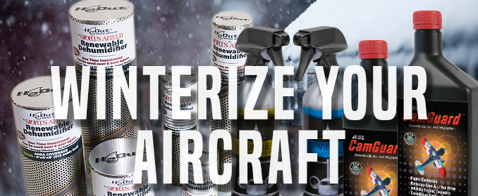 It's the time to winterize your airplane