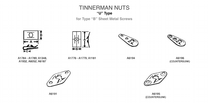 Tinnerman Nuts