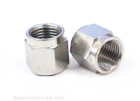 An818 3j 3 16 Nut Tube Coupling Stainless Steel