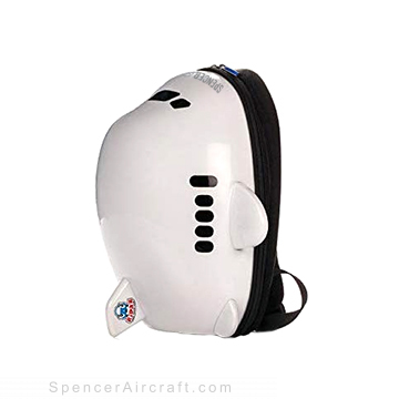 Kids Travel Airplane Backpack Ridaz - White