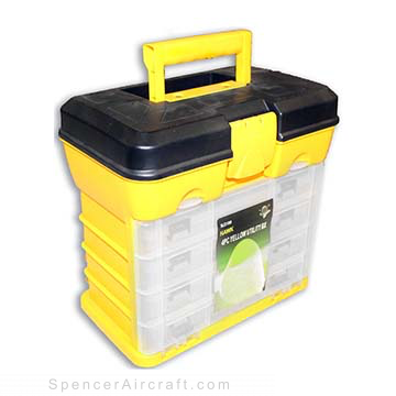 MJ3180 - 4 Piece Yellow Utility Box