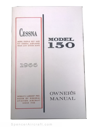 Owners Manual, Cessna 1966 150F