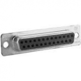 25 Pin Female Sub-D Connector - pn 5205207-1