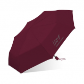 Manual Super Mini Umbrella, 801, Burgundy