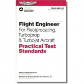 ASA-8081-21 FAA-S-8081-21 Flight Engineer  for Reciprocating Turboprop & Turbojet Aircraft PTS