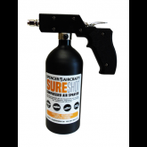 Sure Shot - Anodized Aluminum Sprayer with Adjustable Nozzle, Black, 24 oz
