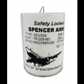 Safety Lockwire .032 302/304 Stainless - 1lb Can MS20995C32 (alt part # NS 032) - 366 ft