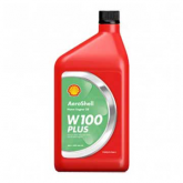 Oil - W100 PLUS Aeroshell - Quart