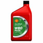 Oil - W80 PLUS  Aeroshell - Quart