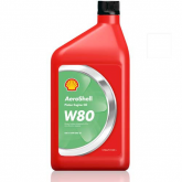 Oil - W80 Ashless Dispersant Aeroshell  - Quart
