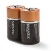 """D"" Cell Batteries - Pack of 2"