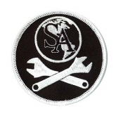 Mechanics embroidered patch
