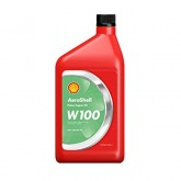 Oil - W100 Ashless Dispersant  Aeroshell - Quart