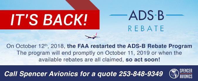 Stratus ADS-3 Rebate Is Back!