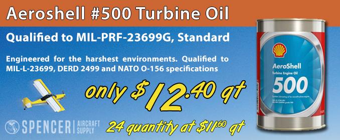Aeroshell #500 Turbine Oil