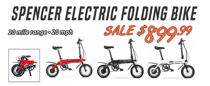 Spencer Electric Bikes