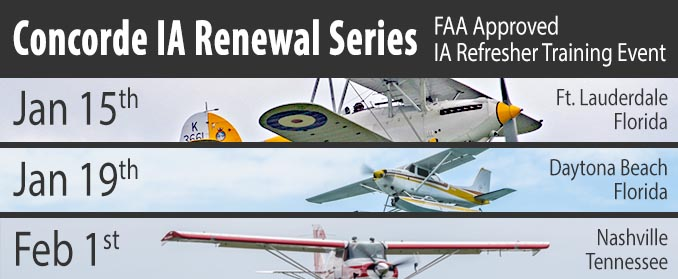 Concorde IA Renewal Series