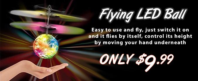 Flying LED Ball Toy
