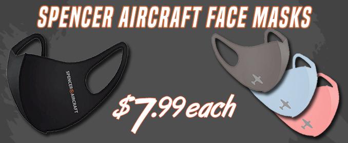 Spencer Aircraft Comfortable Face Mask