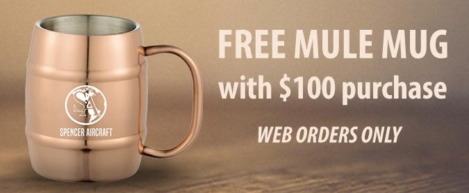 FREE Mule Mug with $100 purchase