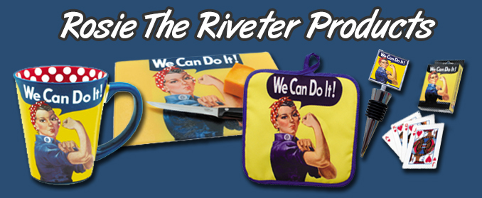 Rosie The Riveter Products