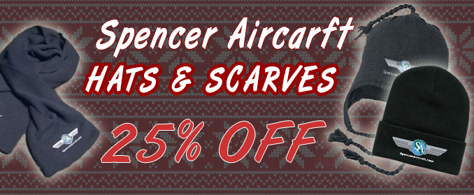 25% off hats & scarves!