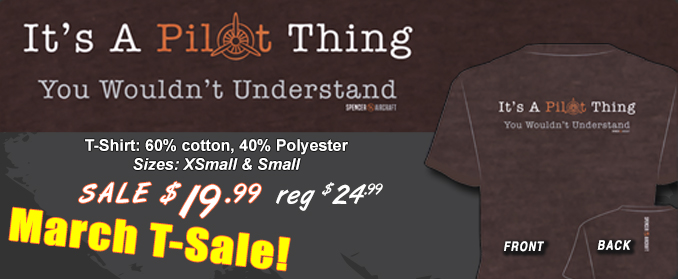 It's A Pilot Thing T-Shirt Sale