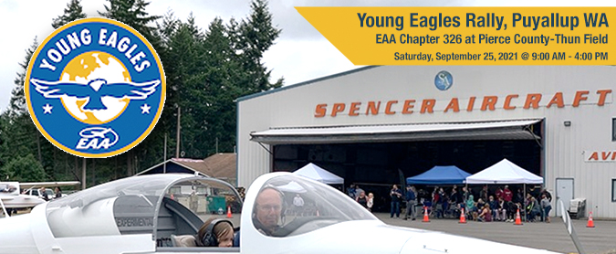 Young Eagles Rally in Puyallup WA
