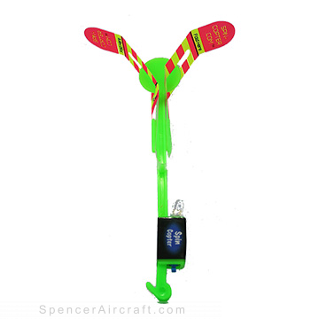 Spin Copter with Lightning Launcher
