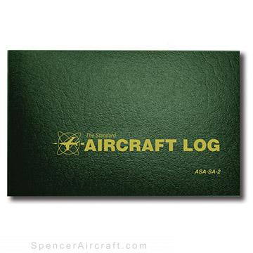 ASASA2 - Aircraft Logbook - Hard Cover
