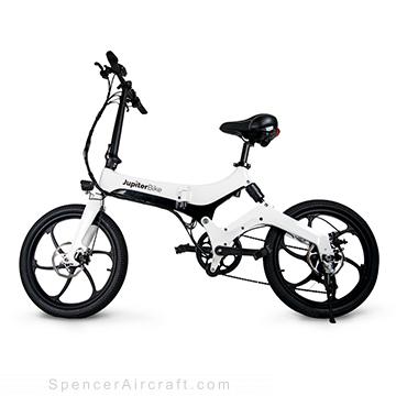 Jupiter Discovery X7 Folding Electric Bike - White