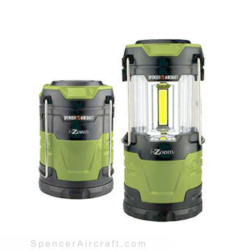 COB-LED Collapsible Lantern 600 Lumens - Green