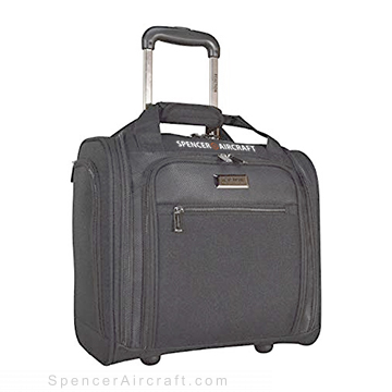 Reaction Excursion Wheeled Underseat Carry On Bag - Charcoal