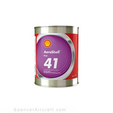 Hydraulic Fluid - Shell Fluid 41 Quart, MIL-PRF-5606H