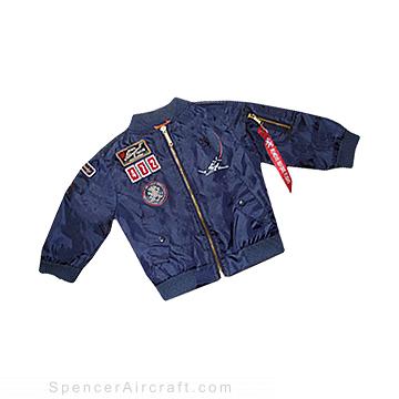 Spencer Aircraft Kids Pilot Jacket - Size 18