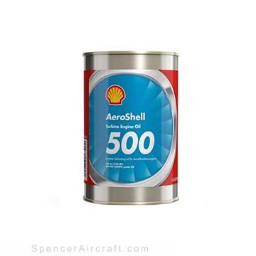 Aeroshell 500 Turbine Oil, Qt., 24 per case, MIL-PRF-23699G
