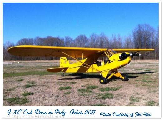 Poly-Fiber Complete Piper J-3 Cub Kit