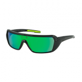 Pop-out Sunglasses - PopStorm Black/Green Mirror